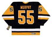 LARRY MURPHY Pittsburgh Penguins 1992 CCM Vintage Throwback NHL Hockey Jersey