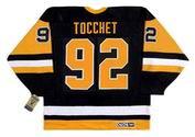RICK TOCCHET Pittsburgh Penguins 1992 CCM Vintage Away NHL Hockey Jersey