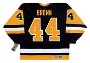 ROB BROWN Pittsburgh Penguins 1989 CCM Vintage Throwback NHL Hockey Jersey