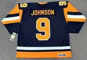 MARK JOHNSON Pittsburgh Penguins 1981 CCM Vintage Throwback NHL Hockey Jersey