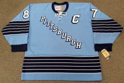 finest selection c21bf 60707 SIDNEY CROSBY Pittsburgh Penguins 1967 CCM Vintage Home NHL Hockey Jersey