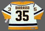 TOM BARRASSO Pittsburgh Penguins 1996 CCM Throwback Home NHL Jersey