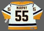 LARRY MURPHY Pittsburgh Penguins 1994 CCM Throwback Home NHL Jersey