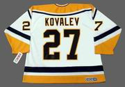 Alex Kovalev 2000 Pittsburgh Penguins NHL Throwback Home Jersey - BACK