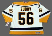 SERGEI ZUBOV Pittsburgh Penguins 1996 CCM Throwback Home NHL Jersey