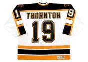 JOE THORNTON Boston Bruins 2002 CCM Vintage Home NHL Hockey Jersey