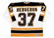PATRICE BERGERON Boston Bruins 2005 CCM Vintage Away NHL Hockey Jersey
