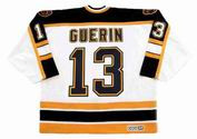 BILL GUERIN 2001 Home CCM NHL Throwback Boston Bruins Jerseys - BACK