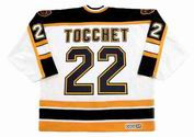 RICK TOCCHET Boston Bruins 1996 CCM Vintage Home NHL Hockey Jersey