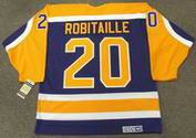 LUC ROBITAILLE Los Angeles Kings 1987 CCM Vintage Away NHL Hockey Jersey