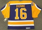MARCEL DIONNE Los Angeles Kings 1984 CCM Vintage Away NHL Hockey Jersey