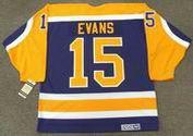 DARYL EVANS Los Angeles Kings 1982 CCM Vintage Away NHL Hockey Jersey