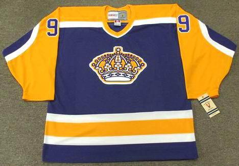 db4b8e99 ... get ccm bernie nicholls los angeles kings 1984 vintage hockey jersey  a9688 b87c0
