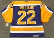 TIGER WILLIAMS Los Angeles Kings 1986 CCM Vintage Away NHL Hockey Jersey