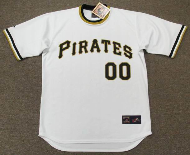 the best attitude 0c1f9 ed41b PITTSBURGH PIRATES 1970's Majestic Cooperstown Home Jersey Customized