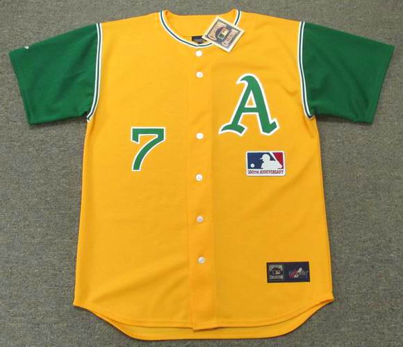 promo code 1e3ab 53b3d RICK MONDAY Oakland Athletics 1969 Majestic Cooperstown Throwback Jersey