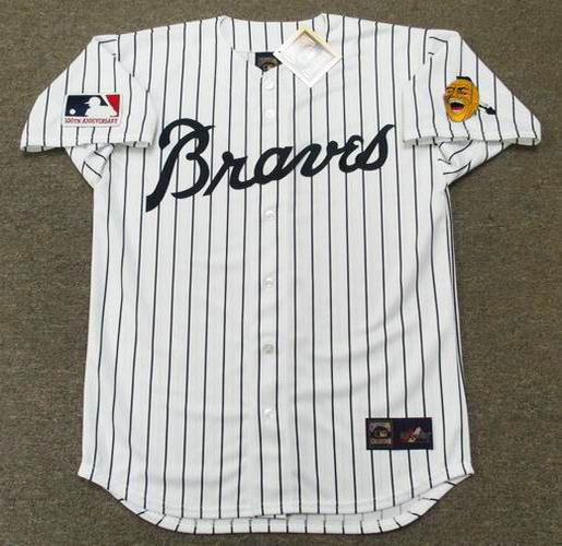 buy popular 3e8f4 01a9f PHIL NIEKRO Atlanta Braves 1969 Majestic Cooperstown Home Baseball Jersey