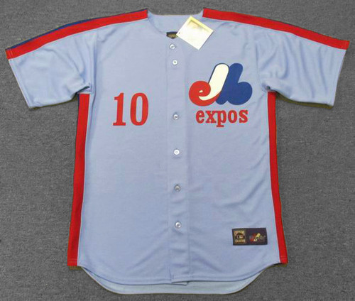 ANDRE DAWSON 1981 Away Majestic Baseball Montreal Expos Jersey - FRONT