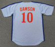ANDRE DAWSON 1981 Away Majestic Baseball Montreal Expos Jersey - BACK
