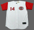Cincinnati Reds 1960's Home Majestic Baseball Throwback Pete Rose Jersey - FRONT