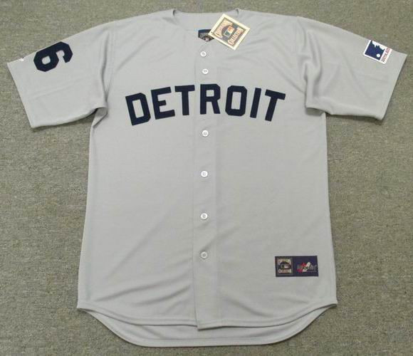 outlet store 9dbe3 225f7 AL KALINE Detroit Tigers 1969 Away Majestic Throwback Baseball Jersey
