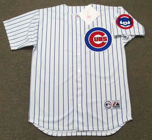 Andre Dawson 1992 Chicago Cubs Majestic MLB Throwback Home Jersey - FRONT