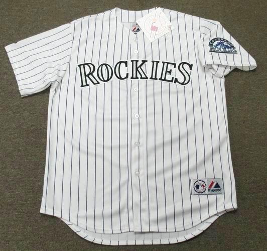 promo code 8f890 25ca8 ANDRES GALARRAGA Colorado Rockies 1996 Majestic Throwback Home Baseball  Jersey