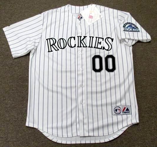 e10f2942686 COLORADO ROCKIES Majestic Home Jersey Customized