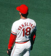 ANDY VAN SLYKE St. Louis Cardinals 1985 Majestic Cooperstown Home Baseball Jersey - ACTION