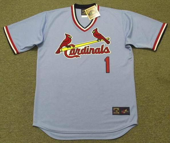 new arrival 26c9b e0822 GARRY TEMPLETON St. Louis Cardinals 1977 Majestic Cooperstown Away Baseball  Jersey
