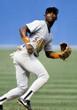 BIP ROBERTS San Diego Padres 1994 Away Majestic Baseball Throwback Jersey - ACTION