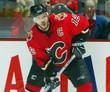 JAROME IGINLA Calgary Flames 2004 CCM Throwback NHL Hockey Jersey - ACTION