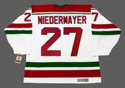 "SCOTT NIEDERMAYER New Jersey Devils 1992 CCM Vintage ""Rookie"" Home Jersey"