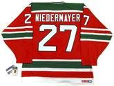 "SCOTT NIEDERMAYER New Jersey Devils 1992 CCM Vintage ""Rookie"" Away Jersey"