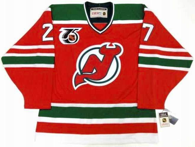 SCOTT NIEDERMAYER New Jersey Devils 1992 CCM Vintage