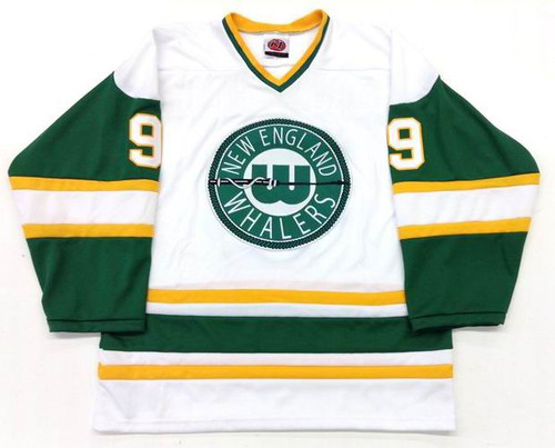 GORDIE HOWE 1978 New England Whalers home jersey - FRONT