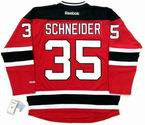 CORY SCHNEIDER New Jersey Devils 2015 REEBOK Throwback NHL Hockey Jersey