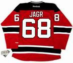 JAROMIR JAGR New Jersey Devils 2014 REEBOK Throwback NHL Hockey Jersey