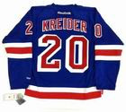 CHRIS KREIDER New York Rangers REEBOK Premier Home NHL Hockey Jersey