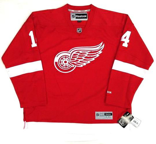 buy popular 1f2ca 5d4f3 GUSTAV NYQUIST Detroit Red Wings 2015 REEBOK Throwback Home NHL Hockey  Jersey