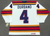 STEVE DURBANO Kansas City Scouts 1975 CCM Vintage Throwback Home NHL Jersey