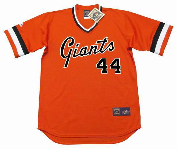 cheap for discount f355f 74745 WILLIE McCOVEY San Francisco Giants 1978 Majestic Cooperstown Alternate  Jersey