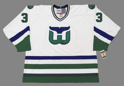 JOEL QUENNEVILLE 1984 Home CCM Hartford Whalers Jersey - FRONT
