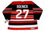 JEREMY ROENICK Chicago Blackhawks 1992 CCM Vintage Throwback NHL Hockey Jersey - BACK