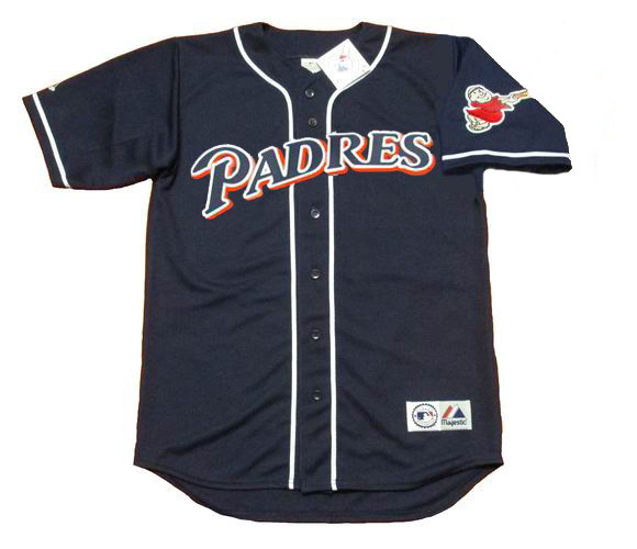 timeless design f770e a5c69 TONY GWYNN San Diego Padres 1997 Majestic Throwback Alternate Baseball  Jersey