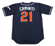 KEN CAMINITI San Diego Padres 1997 Alternate Majestic Baseball Throwback Jersey - BACK