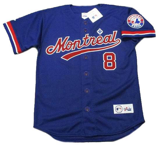 online retailer d89a1 dbb8c GARY CARTER Montreal Expos 1992 Majestic Throwback Baseball Jersey