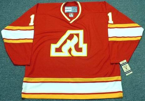 JIM CRAIG Atlanta Flames 1980 CCM Vintage Throwback Away NHL Hockey Jersey  - Custom Throwback Jerseys 7855ff8a7