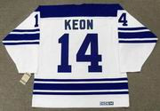 DAVE KEON Toronto Maple Leafs 1967 Away CCM Throwback NHL Hockey Jersey - BACK