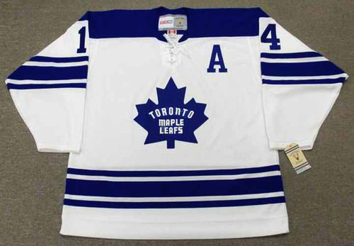 DAVE KEON Toronto Maple Leafs 1967 Away CCM Throwback NHL Hockey Jersey - FRONT